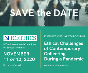 Save the Date - Conference 2020